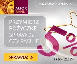 alior bank - pożyczka przymiarka