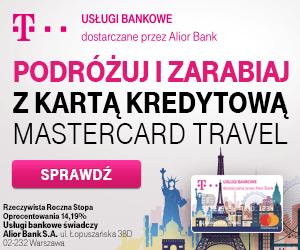 t-mobile - karta kredytowa Mastercard Travel
