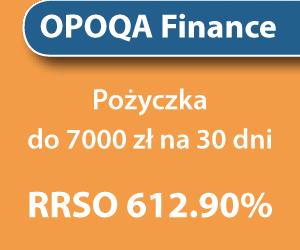 Opoqa Finance - pożyczka bez zaświadczeń 2018