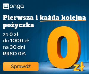 wonga - chwilówka za 0