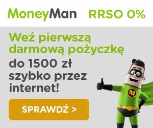 moneyman - bardzo łatwa pożyczka