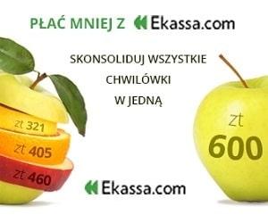 ekassa - konsolidacja chwilówek