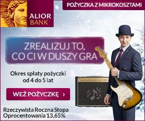 alior - pożyczka gotówkowa