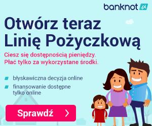 banknot - odnawialna linia pożyczkowa
