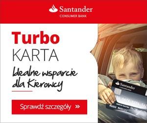 santander turbokarta - karta kredytowa dla kierowców