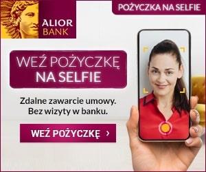 alior - pożyczka na selfie