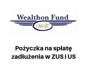 wealthon fund - pożyczka na spłatę zadłużenia w ZUS i US