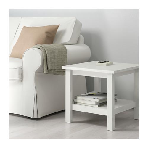 Ikea Hemnes Beistelltisch In 3 Farben Aus Massivholz 55x55cm
