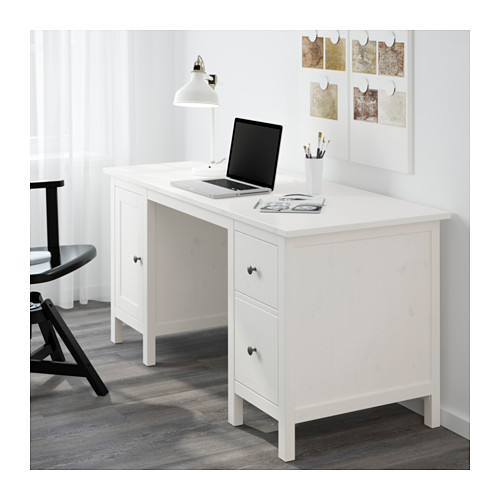 Beau IKEA HEMNES OFFICE DESK Made Of Solid Wood