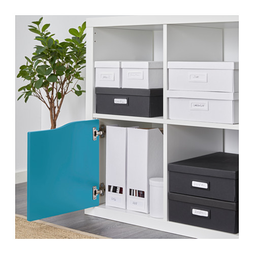 4x ikea kallax shelf rack insert with door or drawers. Black Bedroom Furniture Sets. Home Design Ideas