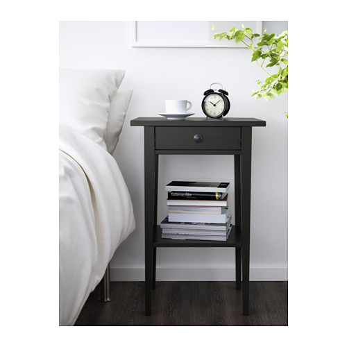 2x ikea hemnes modern bedside table bedroom storage ebay for Ikea comodino hemnes