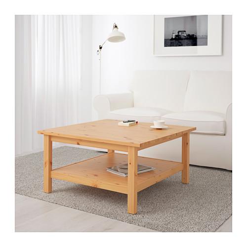 Couchtisch ikea hemnes  IKEA HEMNES Couchtisch in 3 Farben; aus Massivholz; (90x90cm ...