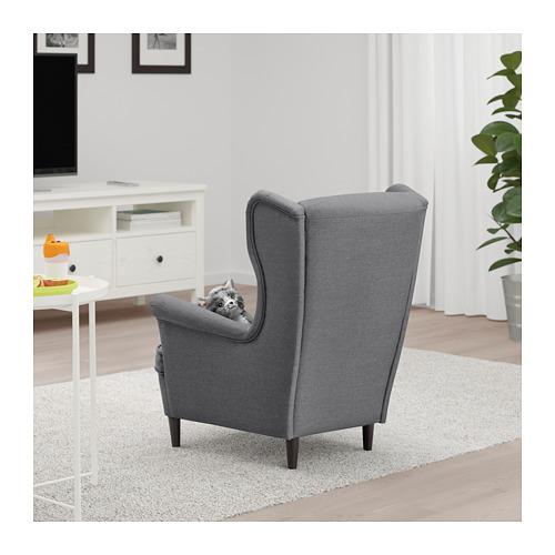 Ikea Strandmon Childrens Armchair Kids Bedroom Living Room Ebay