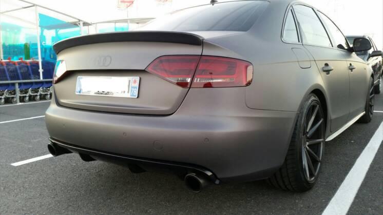 Audi A4 B8 Non S Line Rs 4 Style Heckansatz Diffusor Spoiler Tuning
