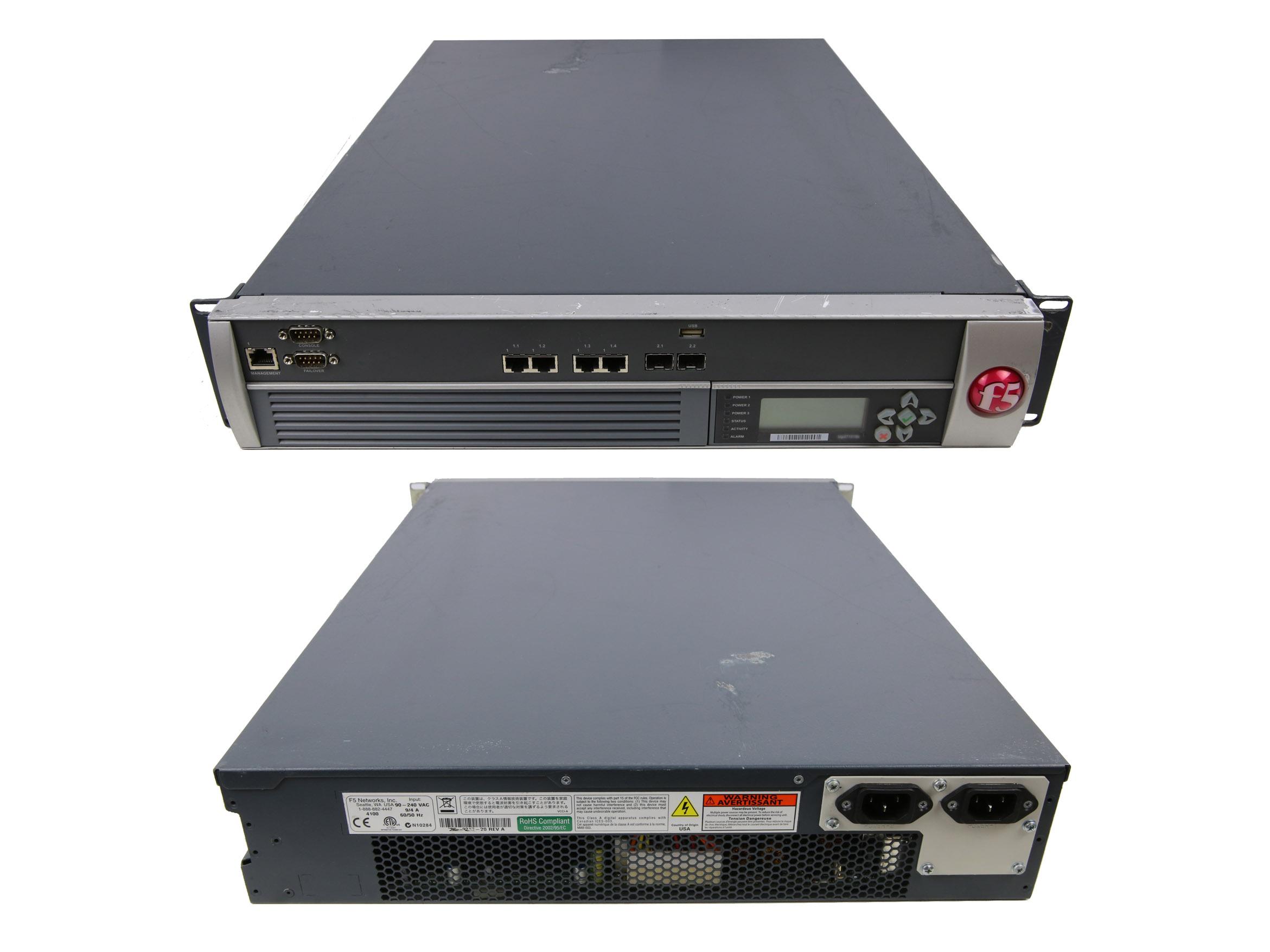 Details about Firewall 200-0217-20 REV A F5 Network FirePass 4100 4Port  1Gbits 2Port 1GbitsSFP
