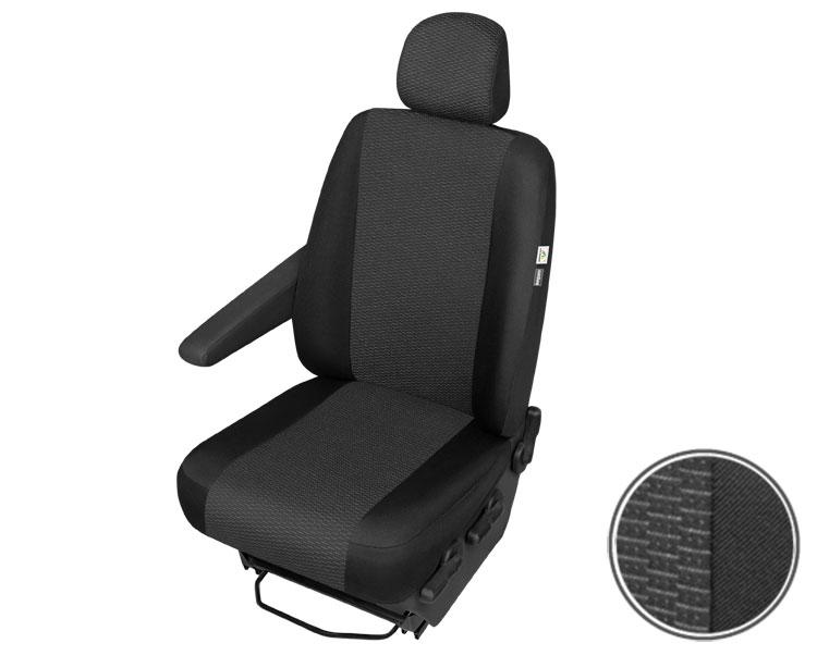 Housse de siège klimatisierend noir Pour VW Volkswagen t5 Standard brièvement Transporteur