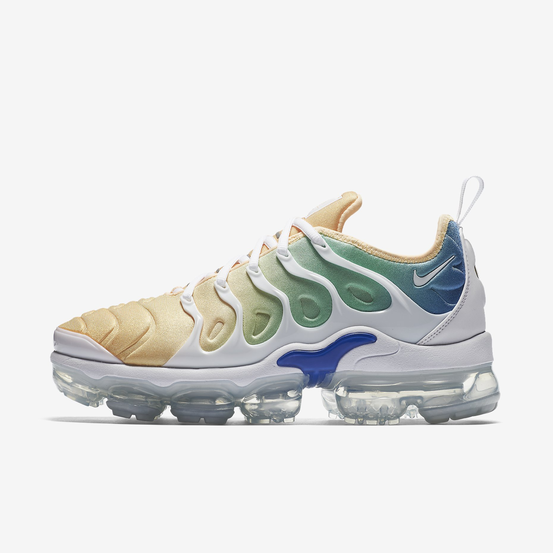 finest selection 1313b aa90d Details about NIKE WMNS AIR VAPORMAX PLUS AO4550-100 WHITE LIGHT MENTA  TANGERINE TINT
