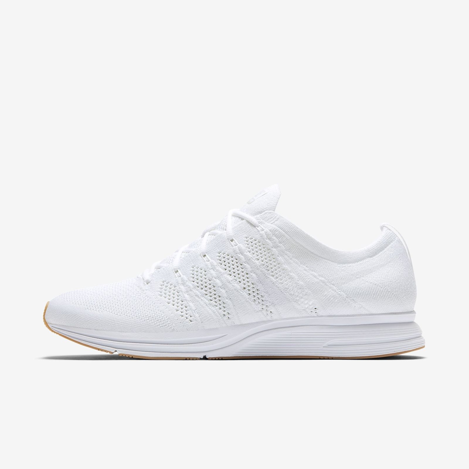 cb653e423a869 Details about NIKE FLYKNIT TRAINER AH8396-102 WHITE GUM LIGHT BROWN