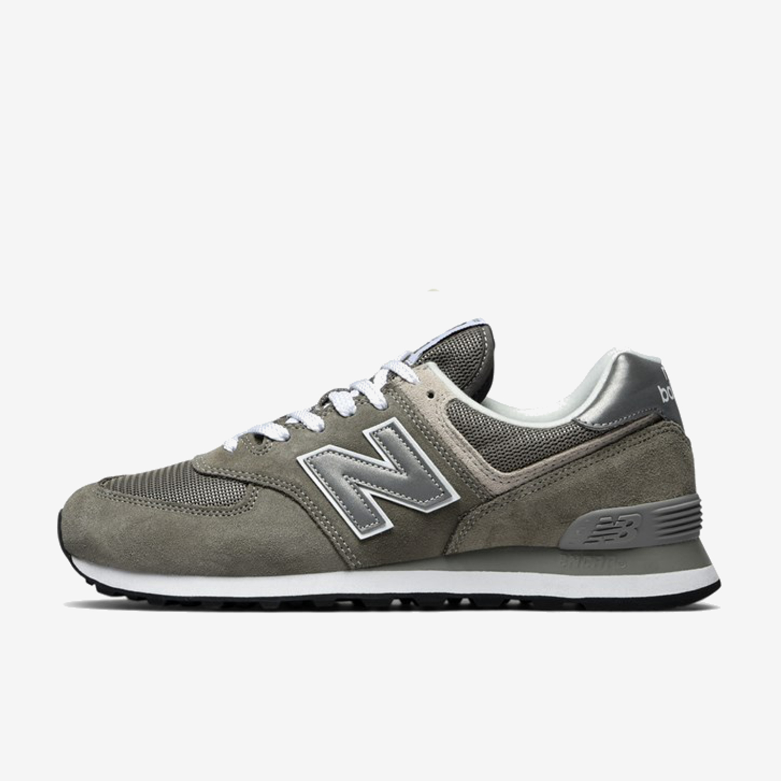Details about NEW BALANCE ML574EGG GREY SILVER BLACK WHITE ML574 574 574EGG  CLASSICS a77f79e20c6