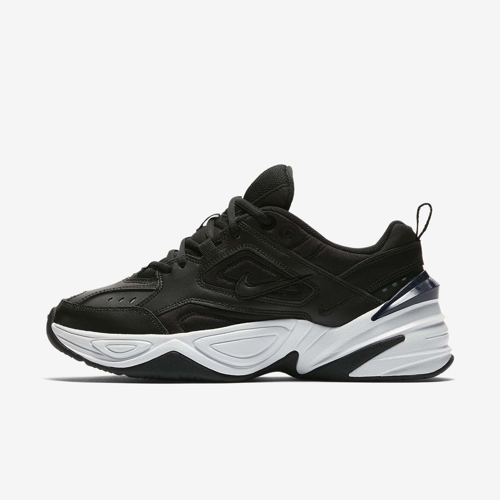 finest selection a534e 05293 Details about NIKE WMNS M2K TEKNO AO3108-003 BLACK BLACK OFF WHITE OBSIDIAN  DAD SHOE S