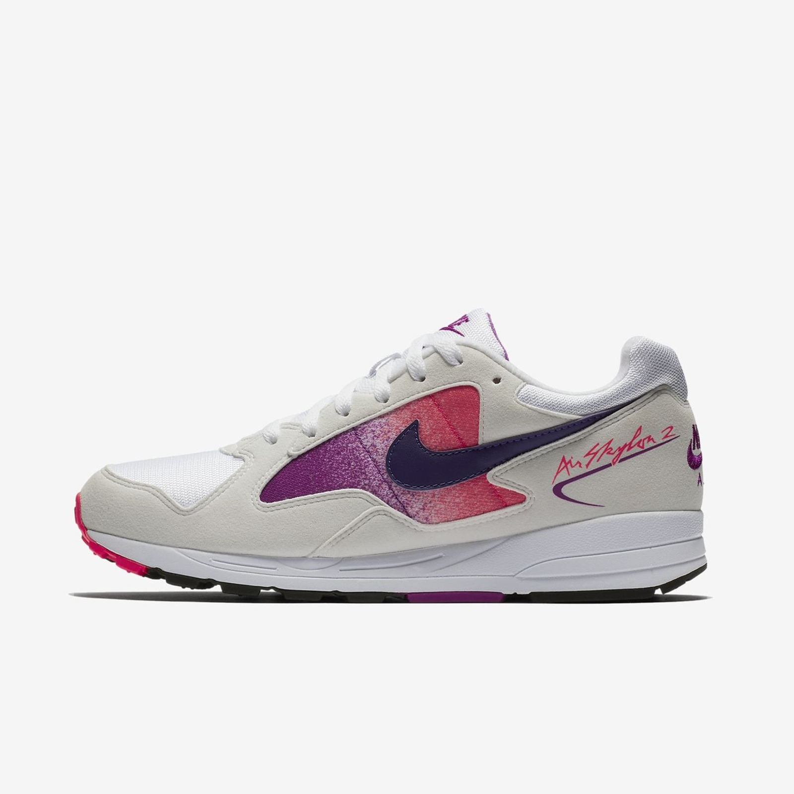 86697aa12b72f NIKE AIR SKYLON II AO1551-103 WHITE COURT PURPLE SOLAR RED 2