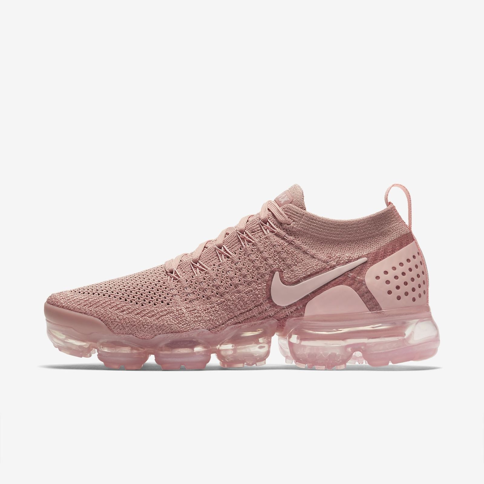 28cd372e6df379 Details about NIKE AIR VAPORMAX FLYKNIT 2 942843-600 RUST PINK STORM PINK  PINK TINT