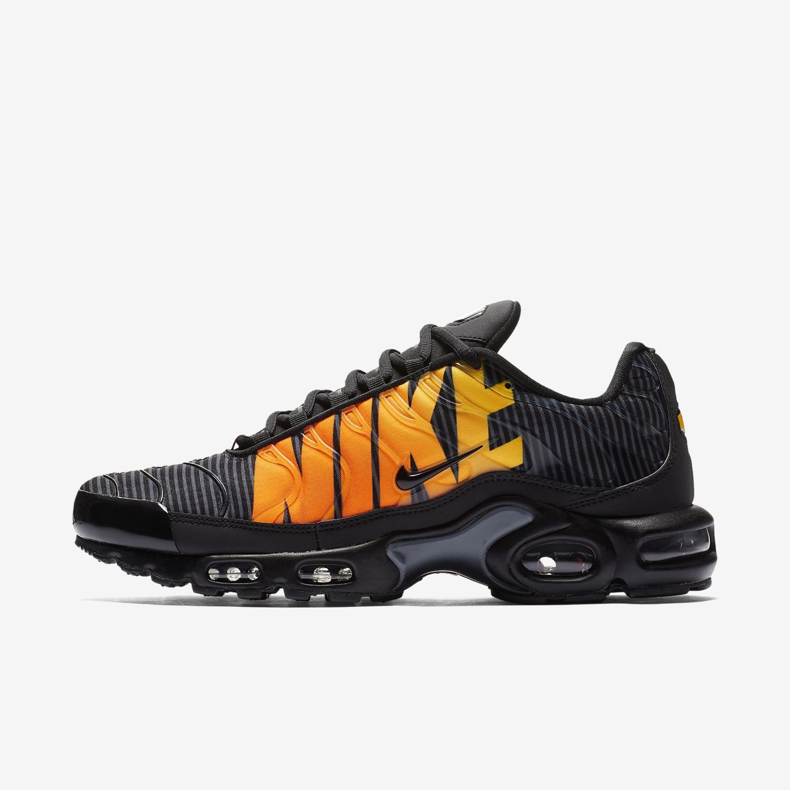 844dee88093 Details about NIKE AIR MAX PLUS AT0040-002 BLACK TOTAL ORANGE ANTHRACITE TOUR  YELLOW TN 97 98