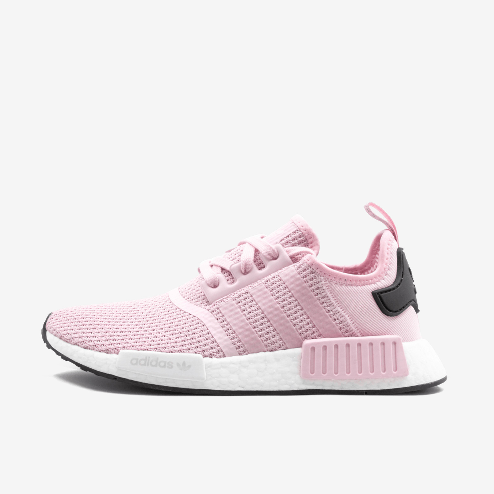 6dc105c9a2657 Details about ADIDAS NMD R1 B37648 CLEAR PINK FOOTWEAR WHITE CORE BLACK