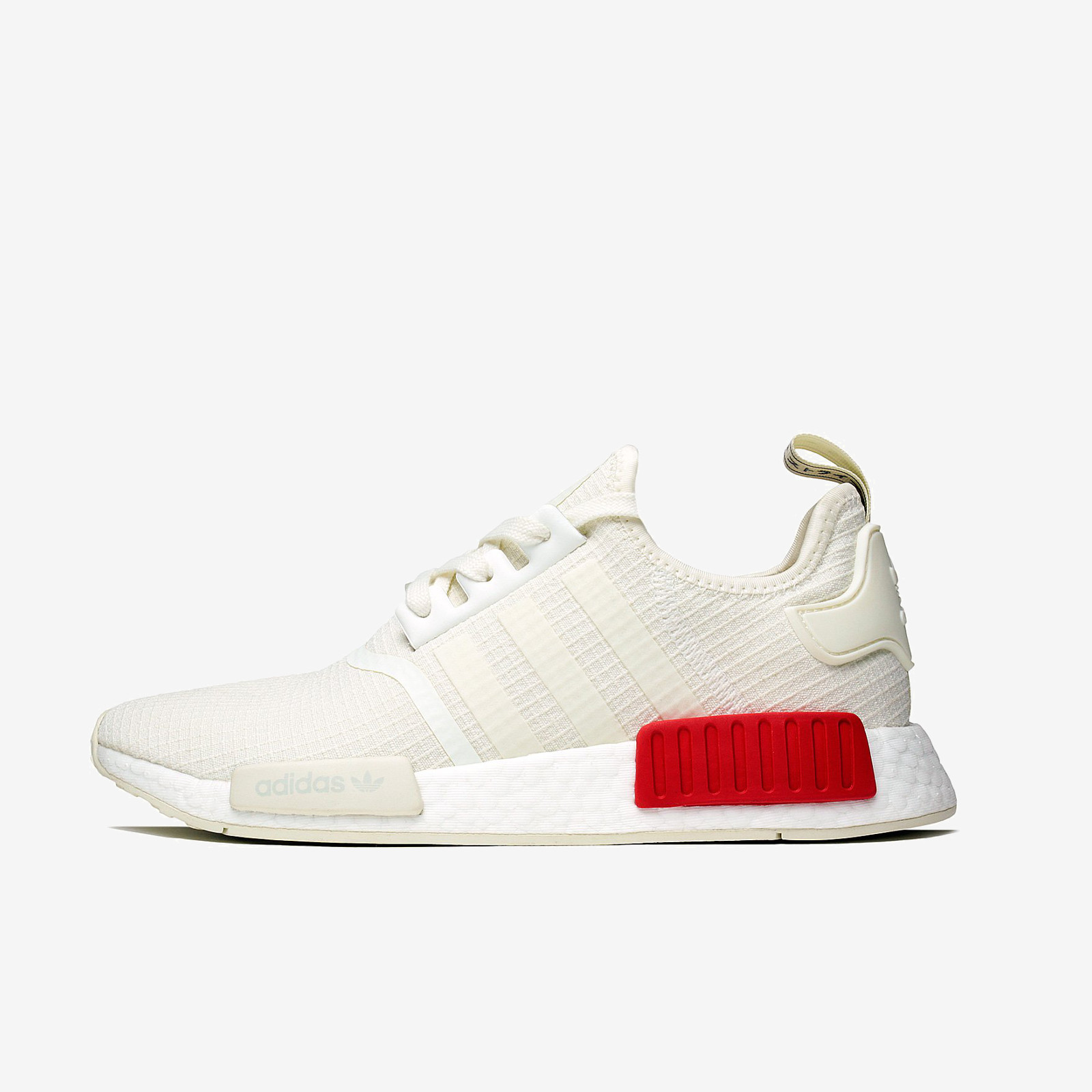 free shipping 5df48 b0072 Details about ADIDAS NMD R1 B37619 OFF-WHITE WHITE LUSH RED