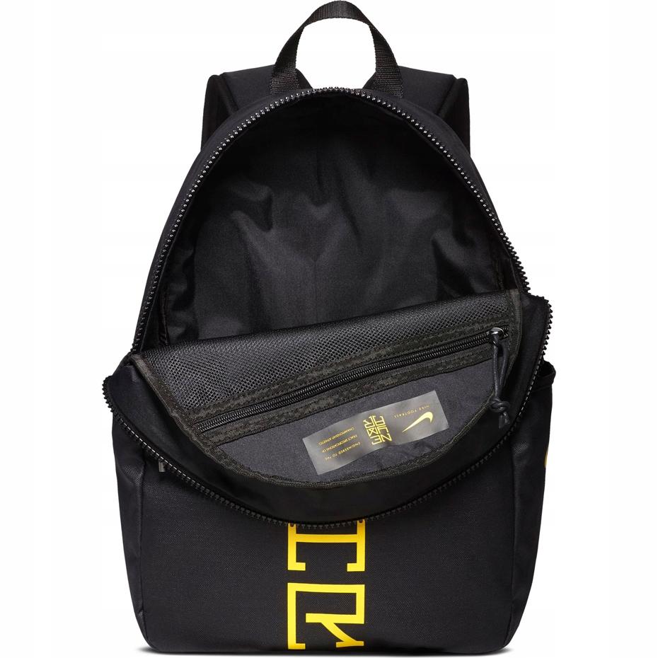 Nike NEYMAR Black Backpack Rucksack School Training Football Junior ... 388d0d4b6f023