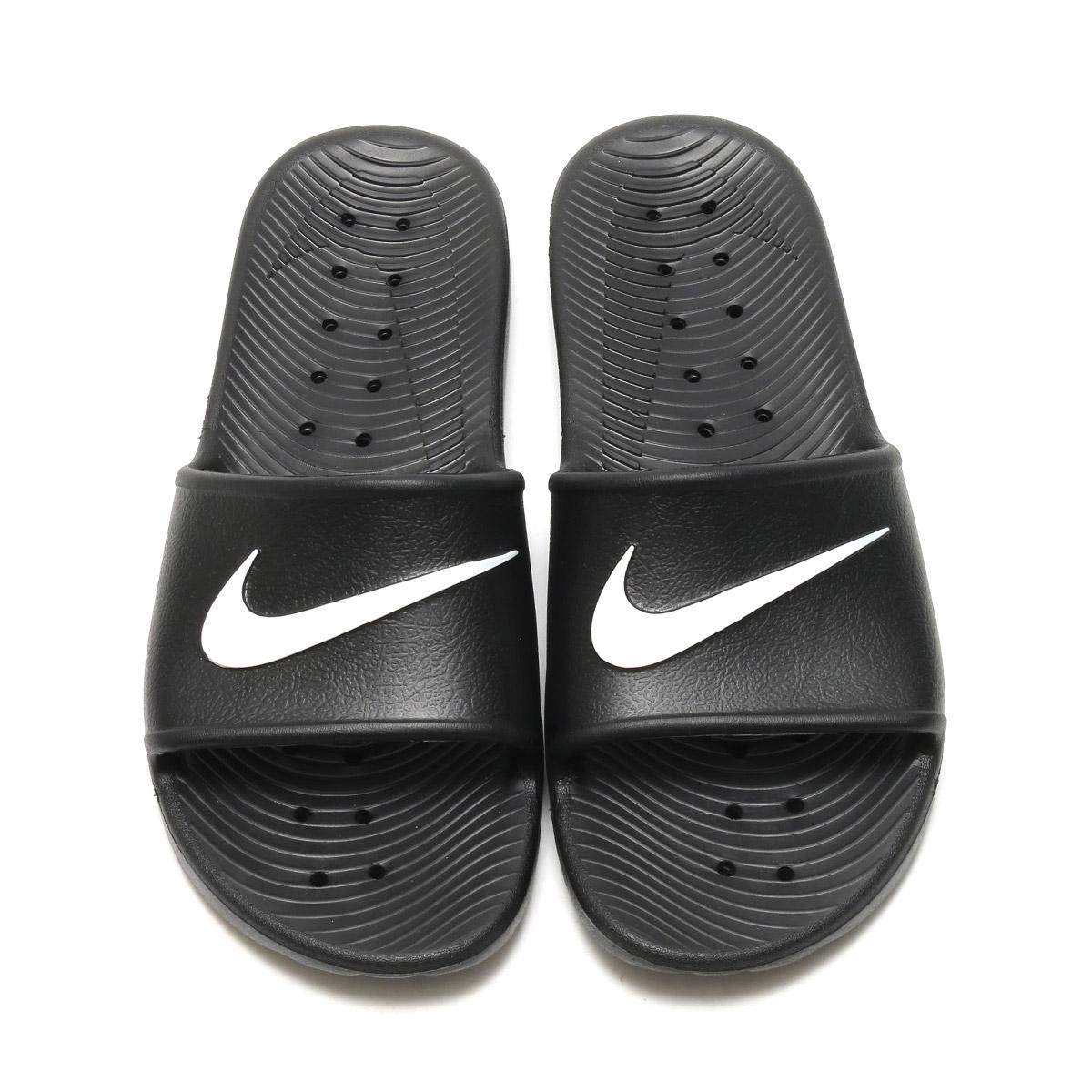 0ec5d5a01f5 Nike Kawa Shower Mens Slides Black Navy