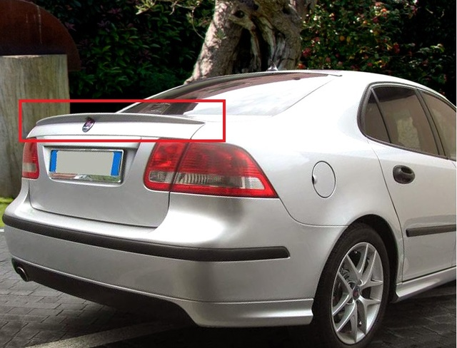 TRUNK SPOILER LIP NEW SAAB 9-3 93 2002-2007 AERO LOOK REAR BOOT