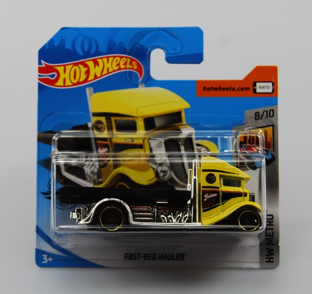 2020 Hot Wheels ~ #33 ~ Hw Metro ~ Mercedes-benz Unimog ~ Caça Ao Tesouro ~ Curto