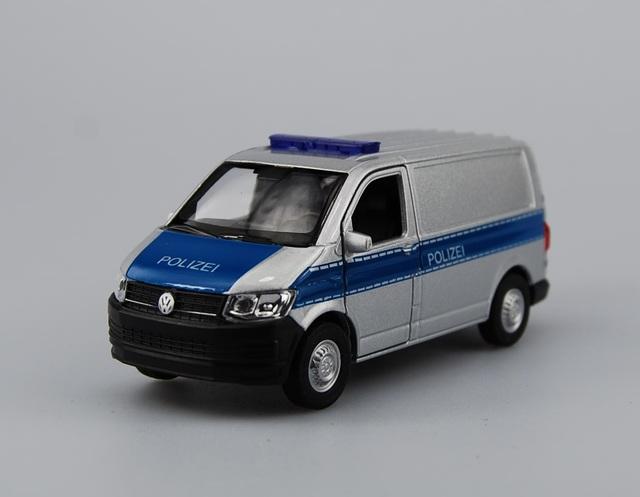 WELLY VW VOLKSWAGEN TRANSPORTER T6 VAN YELLOW 1:34 DIE CAST METAL NEW IN BOX