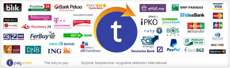 Tpay bezpieczne formy płatności online
