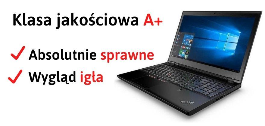 Poleasingowe laptopy klasa A+