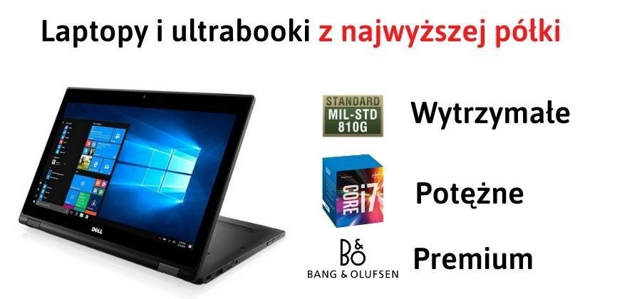 Ultrabooki i laptopy poleasingowe dla każdego