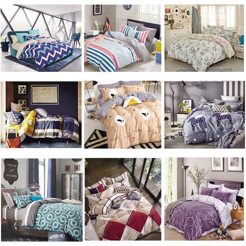 modern bettw sche 135 x 200 155 x 200 200 x 200 100 satinbaumwolle 3 teilig ebay. Black Bedroom Furniture Sets. Home Design Ideas