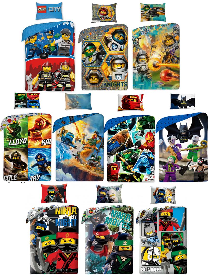 lego ninjago city super heroes single duvet cover quilt cover bedding set 100 ebay. Black Bedroom Furniture Sets. Home Design Ideas