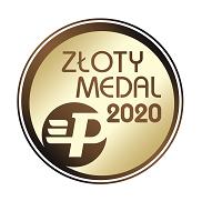 złoty medal za najlepszy produkt w swojej kategorii Budma 2020